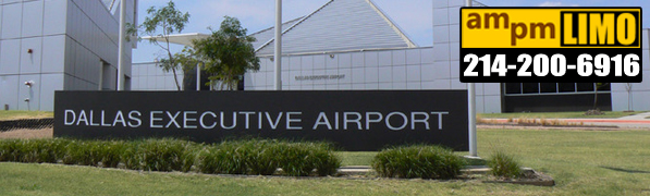 Denton to Dallas Executive Airport Limo Service